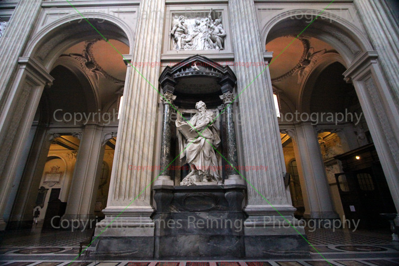 St. Matthew  by Camillo Rusconi
