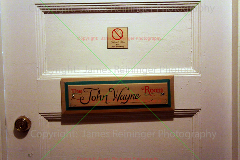 The John Wayne Room<br /> from The Copper Queen Hotel<br /> Bisbee, Arizona