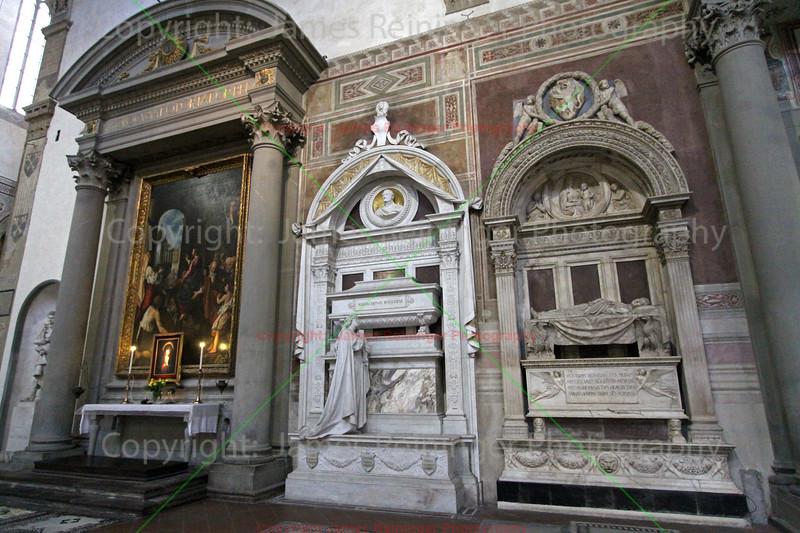 Gioachino Rossini & Leonardo Bruni's Tombs