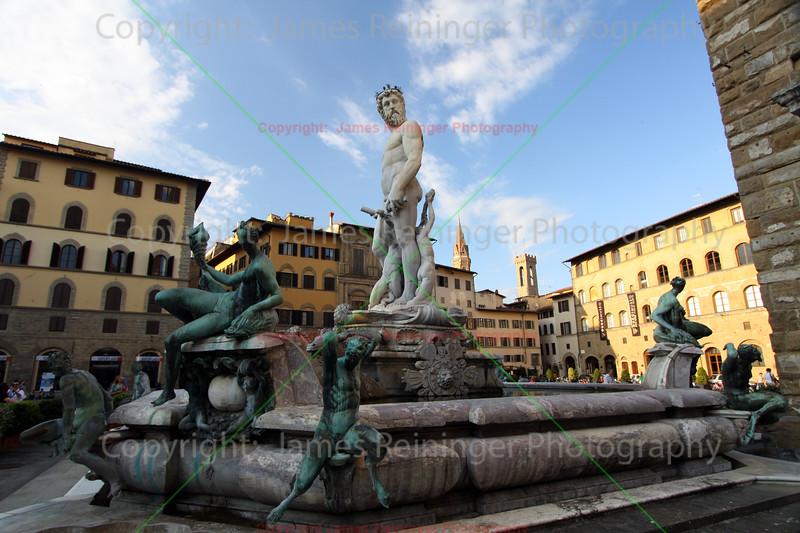 Fountain of Neptune by Bartolomeo Ammannati