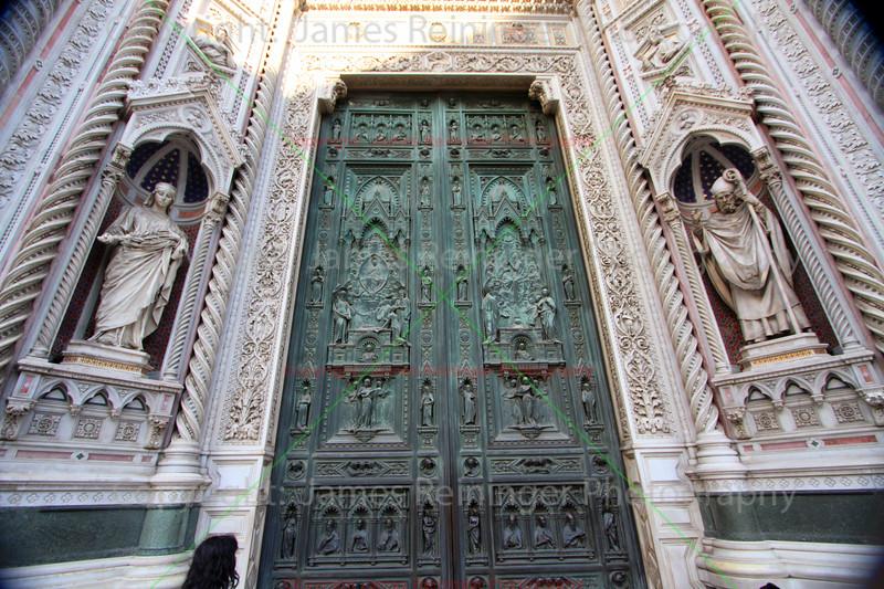 Main Portal of the Duomo by Augusto Passaglia