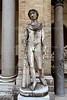 Belvedere Courtyard<br /> Vatican Museum<br /> Rome, Italy