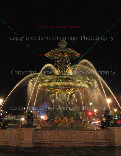Fontaines de la Concorde<br /> Paris, France <br /> <br /> To see more pictures of France, click on the link below.