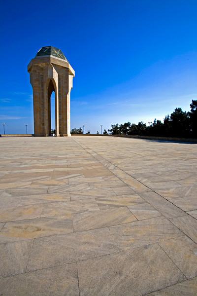 "Eternal Flame at ""The Martyrs"" Cemetery Baku"