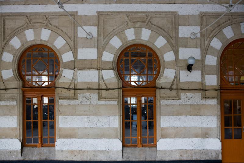 The railway station Baku, Azerbaijan