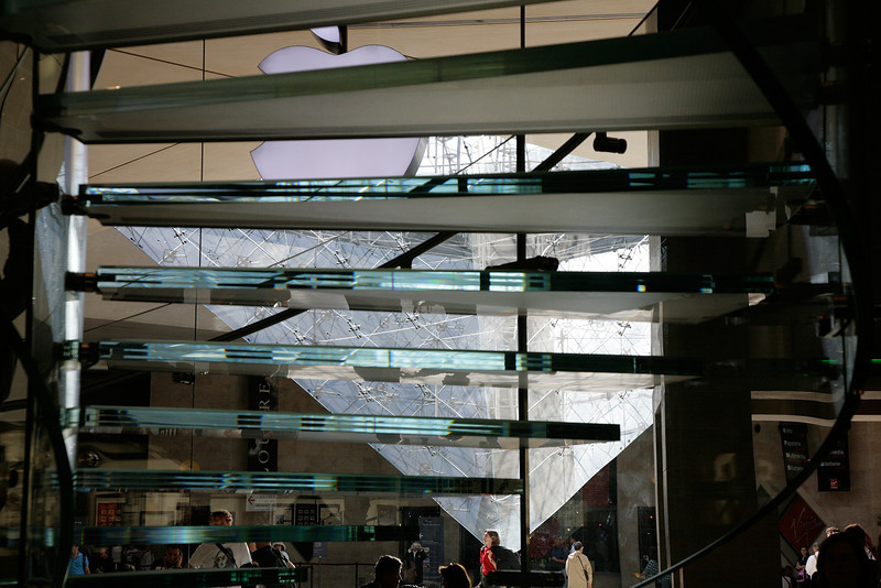 Apple Store at the Louvre
