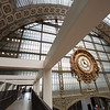 Musee d'Orsay, originally a train station, designed by Victor Laloux to coincide with the Exposition Universelle in 1900.