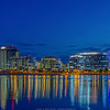 Blue Light and Tempe Town Lake