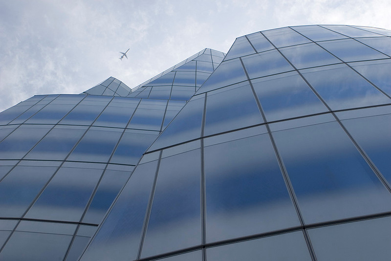 Frank Gehry building in New York City