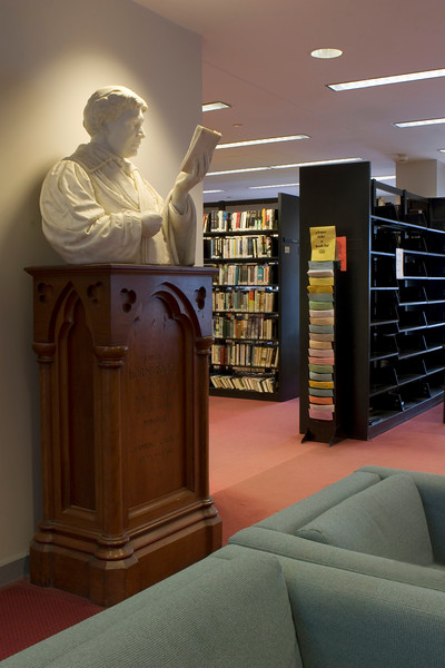 Newton Free Library in Newton, MA