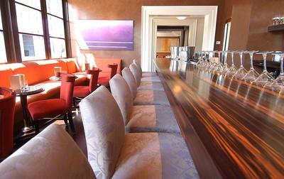 Interior of the  newly designed Charleston Restaurant at Inner Harbor East. MF-D 8/3/05.