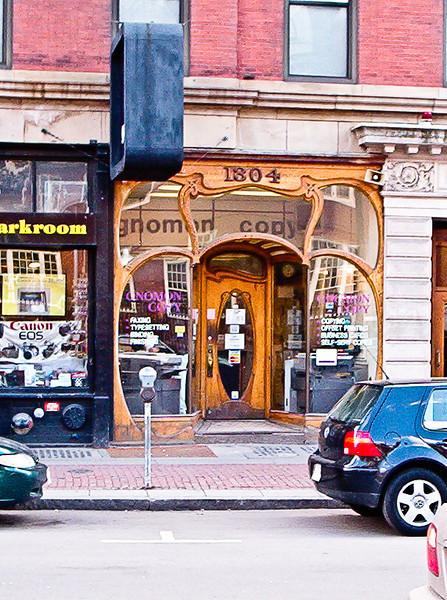 Art Deco store front