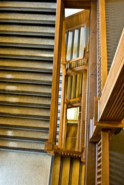 Vanishing point stairs