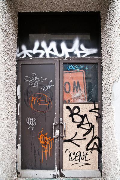 Decrepit Doors