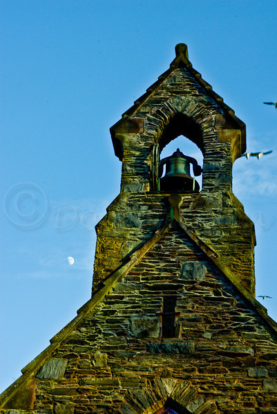 Bell Tower and Moon.