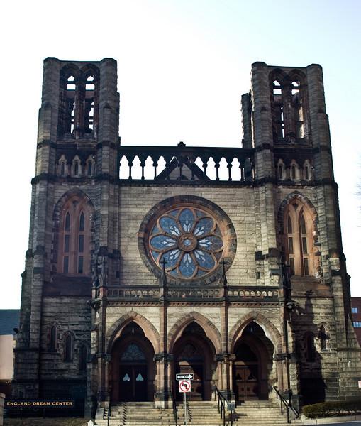 New England Dream Center. Former Congo Church