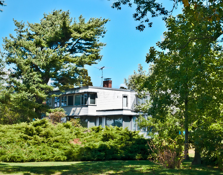 The Herreshoff house on Ferry Road in Bristol, RI.