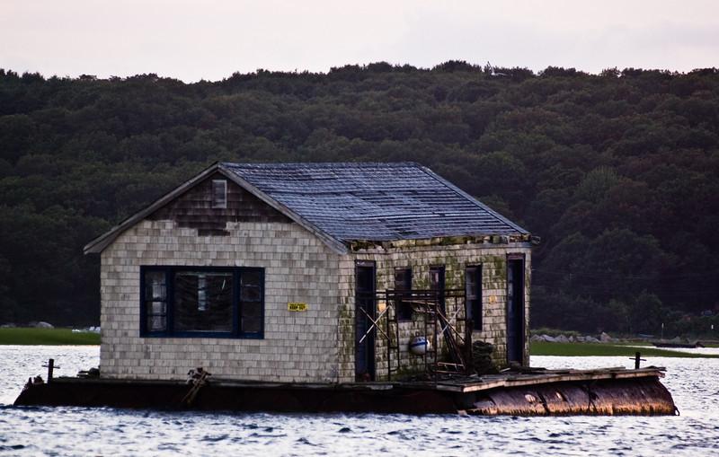 Decrepit House Boat