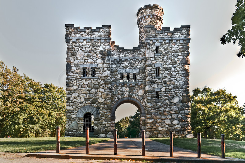 The north side of Bancroft tower