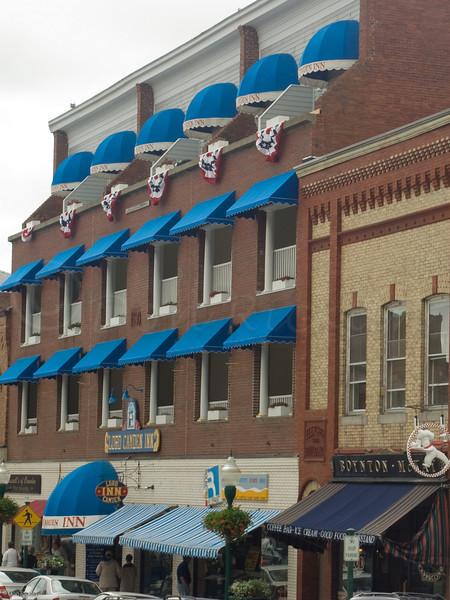 Blue Canopies