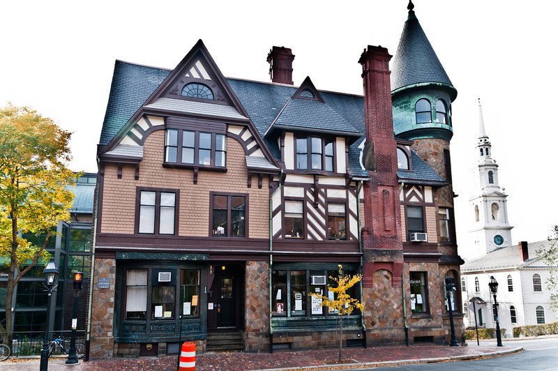 Carr House, RISD, Benefit Street side.