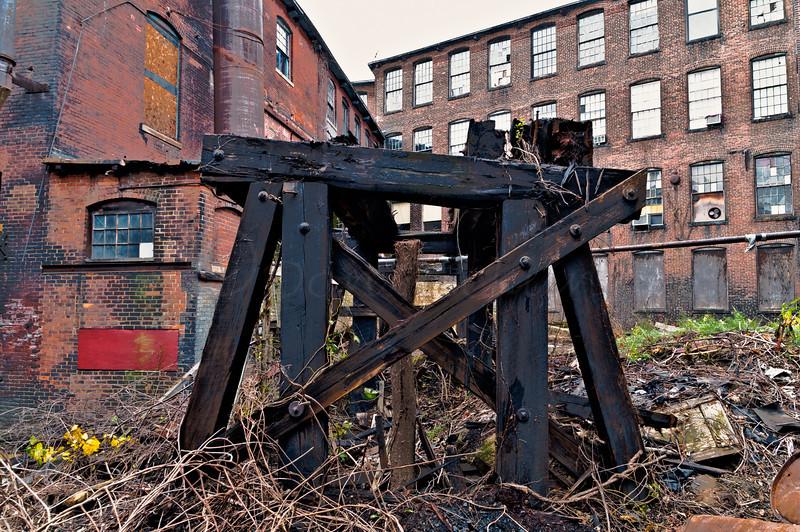 D is for dilapidated, dangerous, dingy, decadent, destitute.