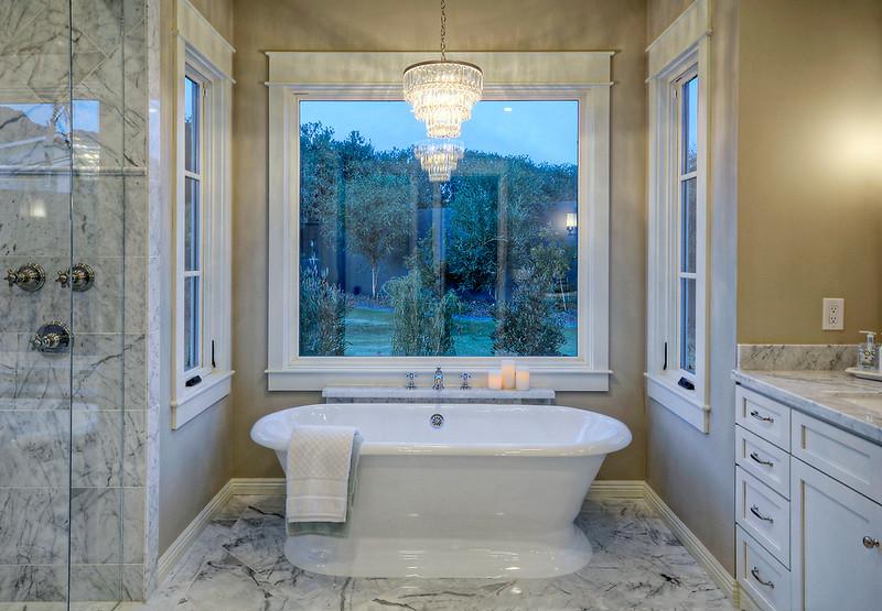 Arcadia New Build Bathroom Tub