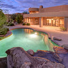 Pool Beauty Shot in Scottsdale