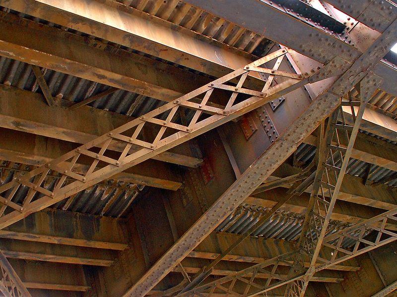 Under the Old Footscray Railway Bridge