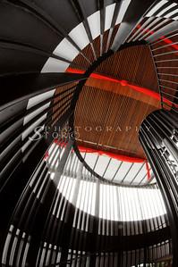 spiral stairways at HotPark