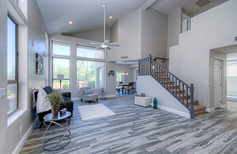 Contemporary Flooring and Paint.