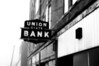 Union State Bank sign is a relic of the past in Kempton, Indiana.