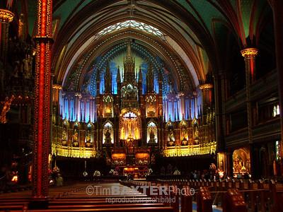 Notre Dame Basilica, Montreal.