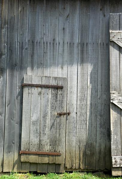 150-year-old barn door