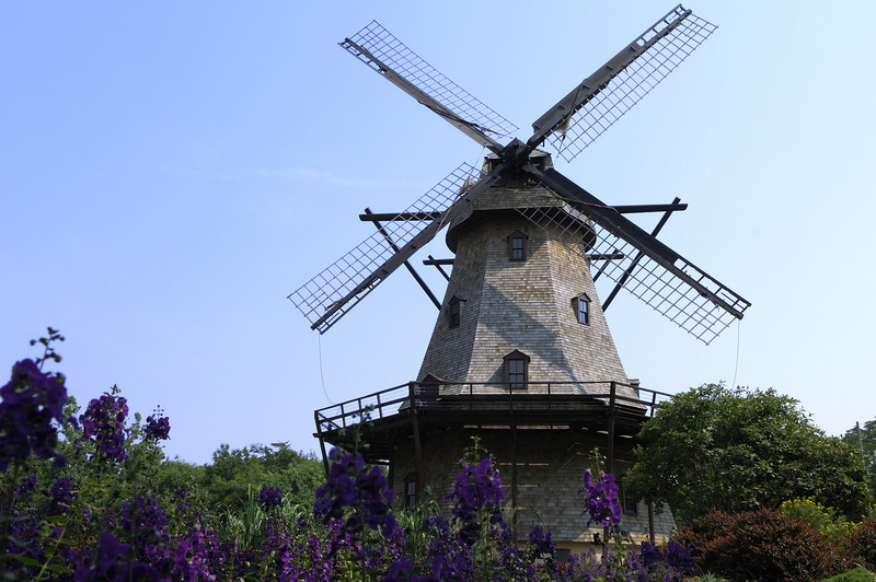 Windmill in St. Charles, Illinois.
