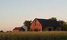 Sunset barn, Cicero, Indiana.