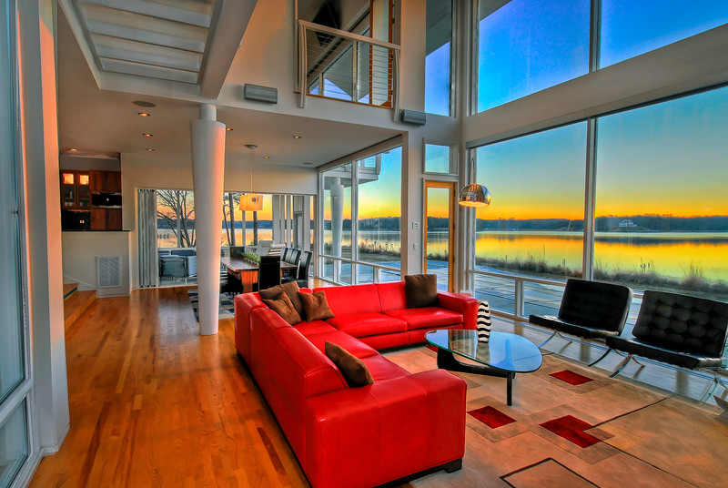 High Dynamic Range Photography balancing indoor and outdoor light