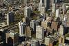 Aerial view of northwest Chicago.