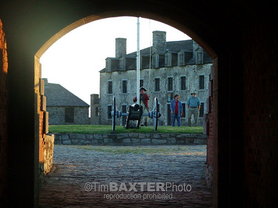 Fort Niagara.  I could have sworn I have this same exact shot without people.  Hmmm.