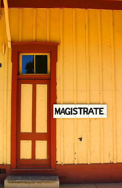 Old railroad station in Patagonia Arizona, USA.
