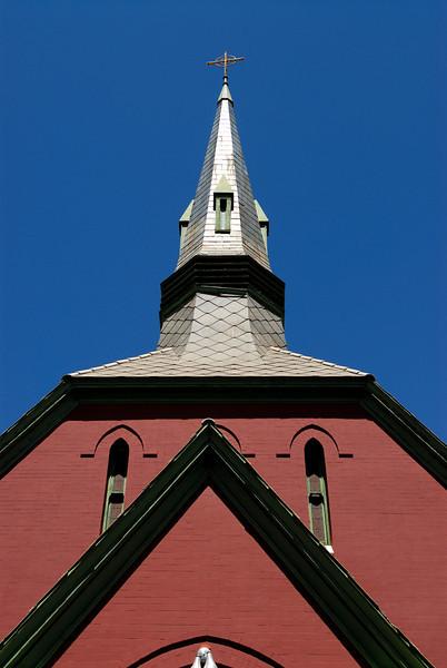 Church in Bisbee, Arizona.