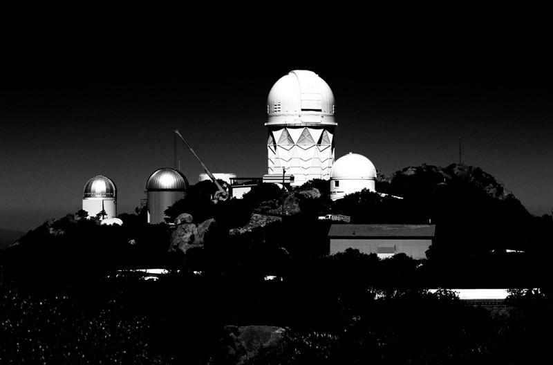 Kitt Peak Observatory, outside Tucson, Arizona