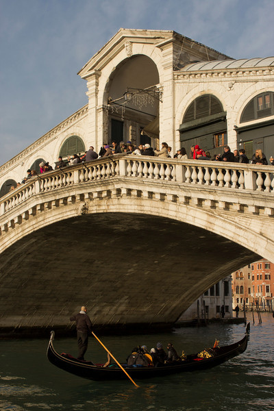 Italy, Venice, Rialto Bridge SNM