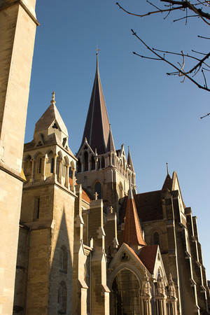 Switzerland, Lausanne, Cathedral SNM