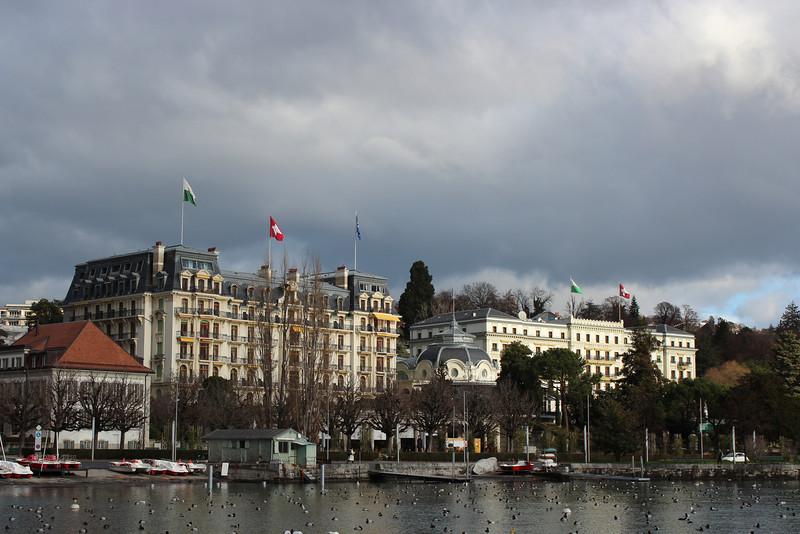 Switzerland, Lausanne, Ouchy
