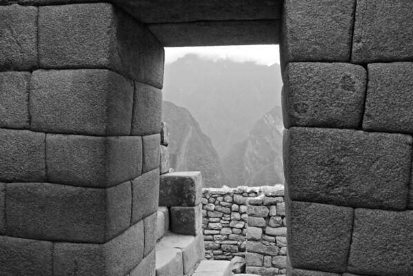 Finest Incan Architecture; Machu Picchu