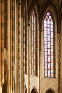 The church of St Sernin, in Toulouse, France.
