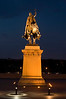 "back view of Statue ""Saint Louis""<br /> photo by RL"