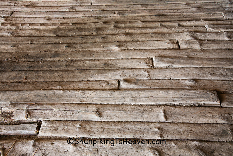 Weathered Barn Floor, Steve Brown Barn, Muscatine County, Iowa