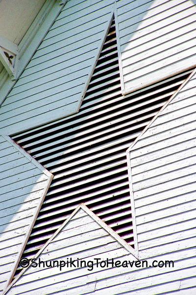 Star-shaped Ventilator on the Star Barn, Dauphin County, Pennsylvania